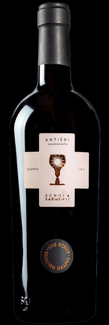 Antieri Susumaniello Salento IGT 2017 Schola Sarmenti | Weinhaus ...